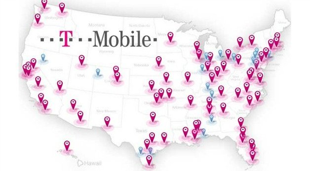 t mobile 4g coverage map