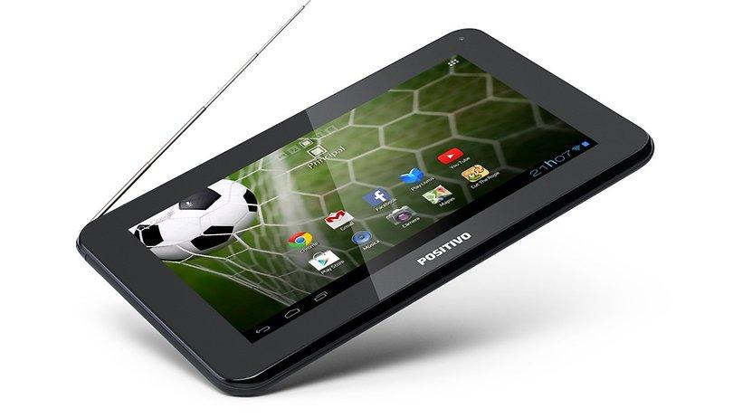 Lançado a preço de banana tablet da Positivo com TV digital