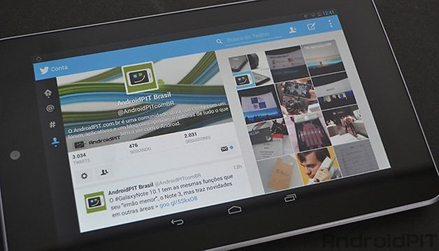 Android Twitter tablets