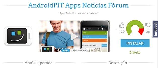 Androidpit app pagina
