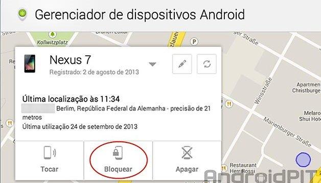 Gerenciador de dispositivos Android: bloqueio remoto agora é possível