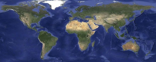 Google earth cloudless