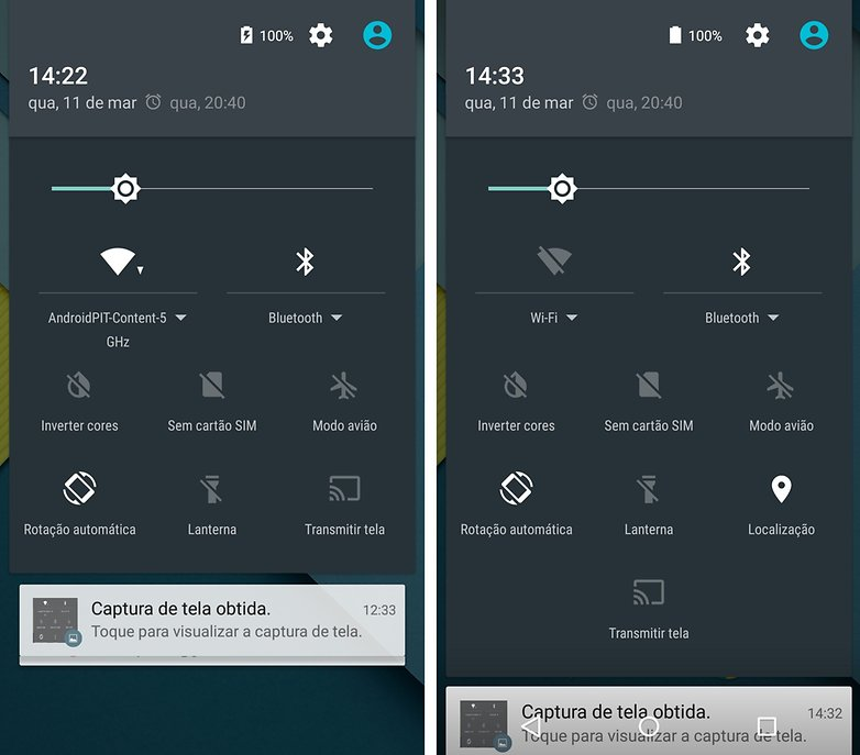 android 5 1 configuracoes