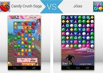 Guerra dos Apps: Candy Crush Saga X Jóias - Qual jogo é o melhor?