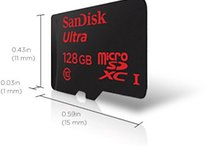 SanDisk launches first 128 GB microSD card