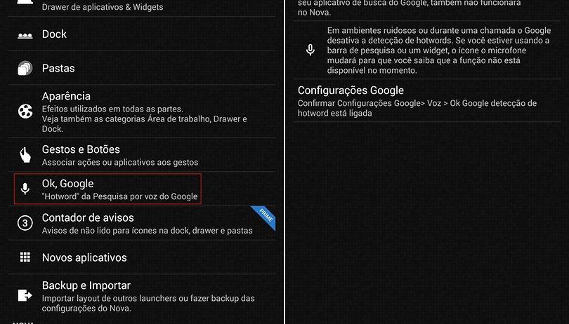 """O Nova Launcher 3 entende agora """"Ok, Google"""""""