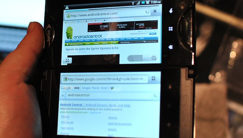 Kyocera Echo brings 'true' multitasking to Android