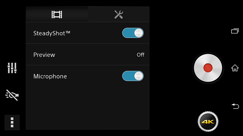 4K Video app Sony D6503
