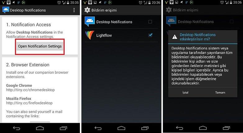 Desktop Notification Turkish 1