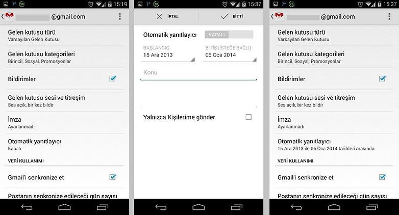 Gmail versiyon 1 2