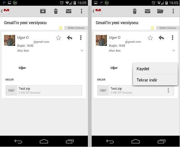 Gmail versiyon 2 2