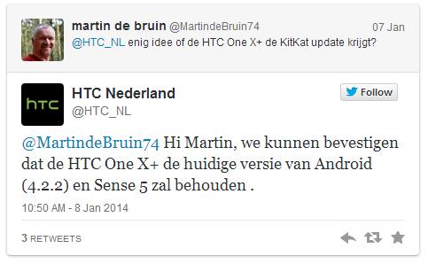 HTC NL OneX plus