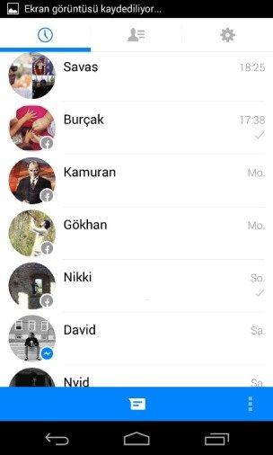 New Facebook Messenger 1 2 1