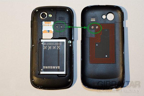Nexus NFC antenna
