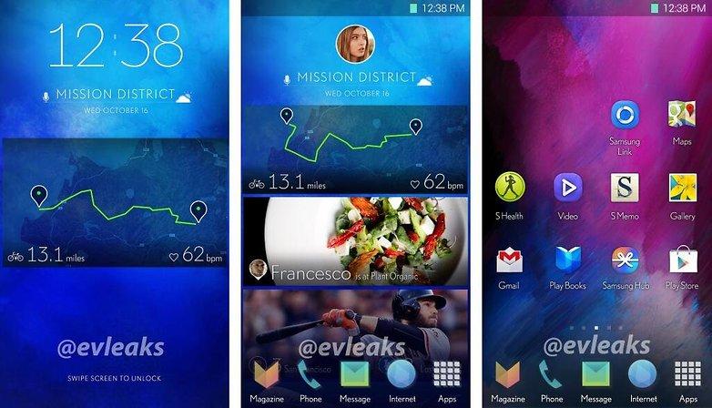 Samsung exploring new UI