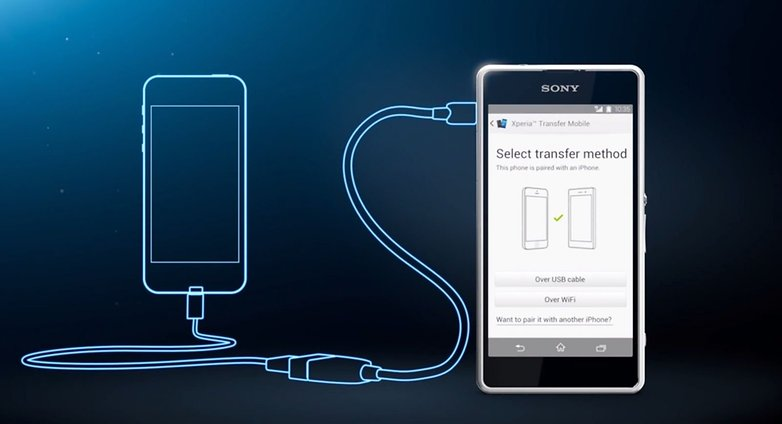 Xperia transfer mobile
