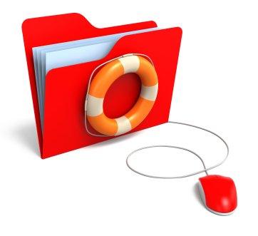 folder life buoy