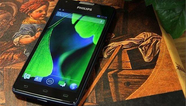 Conheça o novo smartphone da Philips com bateria que dura 66 dias