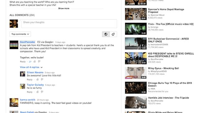 Sistema de comentários do YouTube será aprimorado