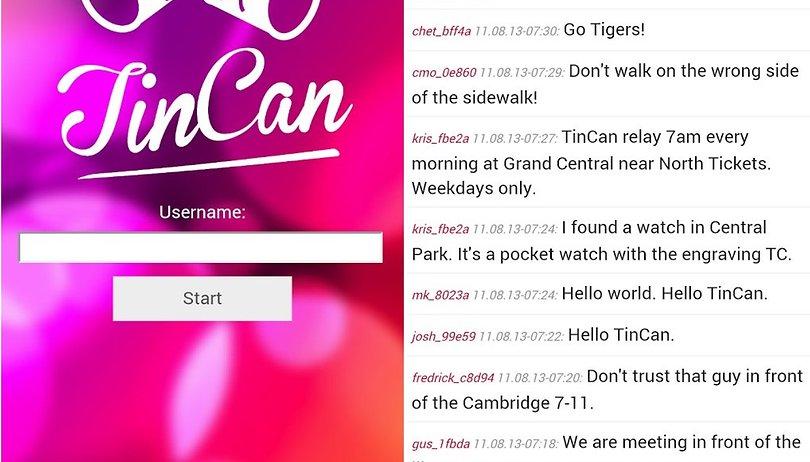 Tin Can: app permite troca de mensagens sem conexão com internet