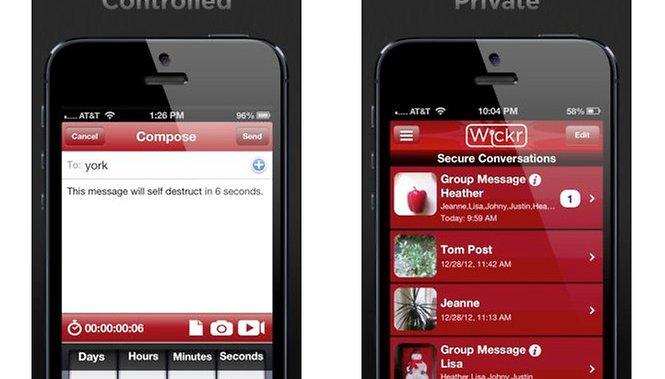Wickr: app que envia mensagem que se autodestrói chega ao Android