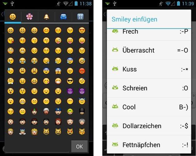 8sms app screenshot emojis 02