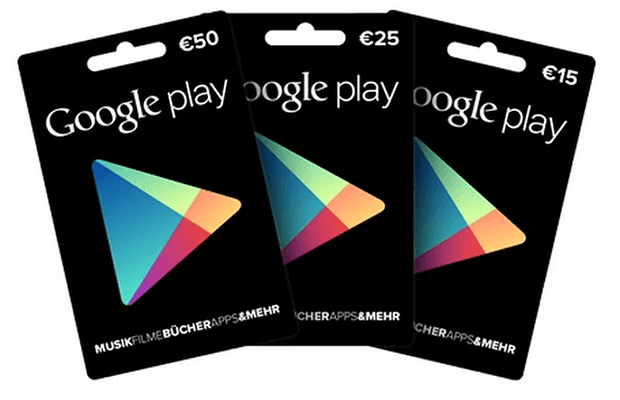 google play guthaben kann nicht verwendet werden