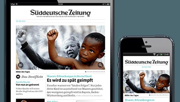Süddeutsche Zeitung Digital App im Test