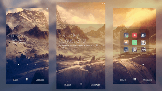 Themer App Screenshot Theme