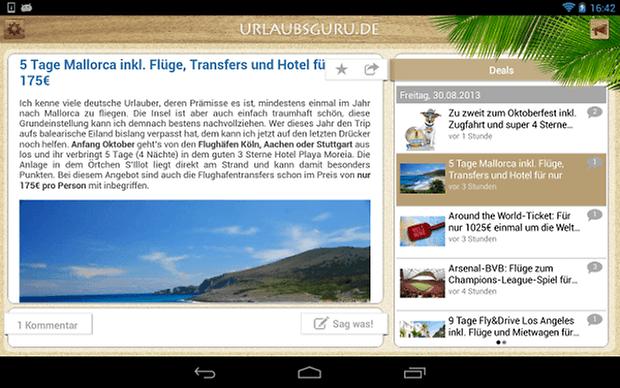 Urlaubsguru screenshot 02 mallorca
