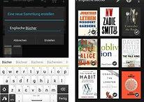 Kindle-App: Update erlaubt Sortieren von Büchern in Sammlungen
