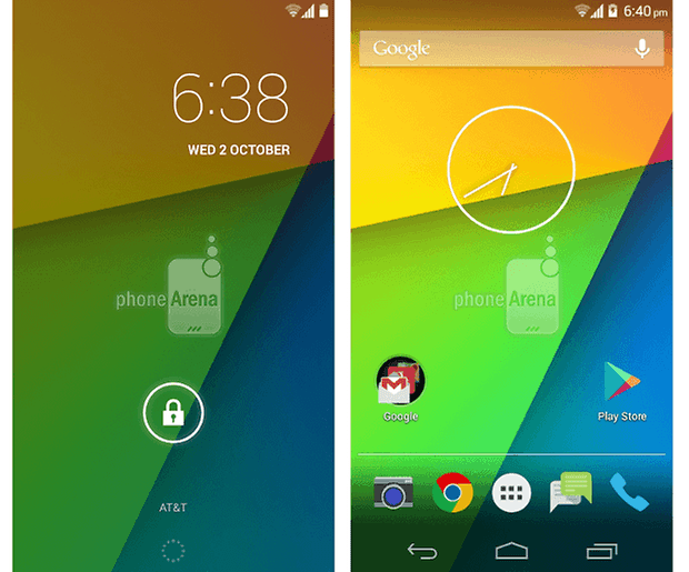 android 4 4 kitkat lockscreen