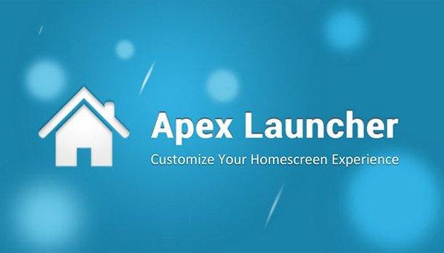 Apex Launcher 2.2: visual do KitKat e barra de status transparente