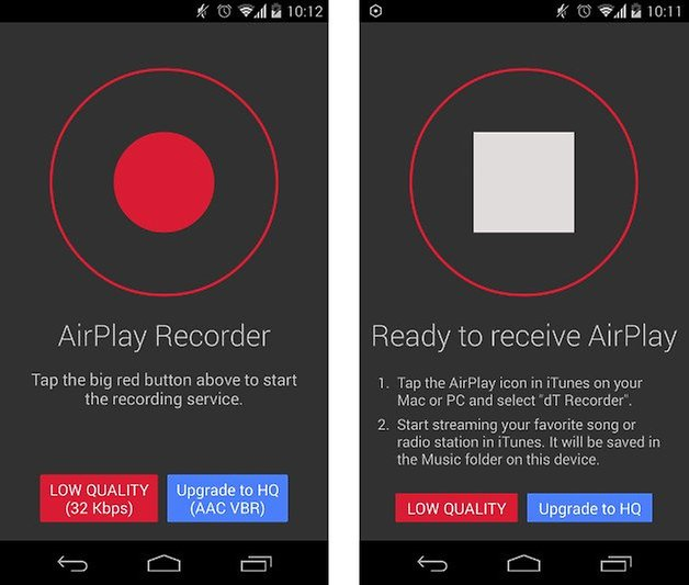 app doubletwist airplay recorder screenshot 01