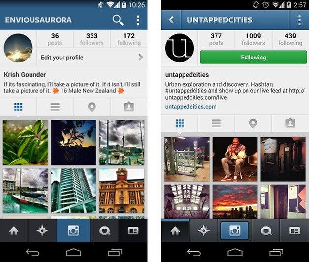 app instagram flat screenshot 03