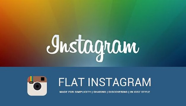 Flat Instragram: a fancier looking Instagram for Android