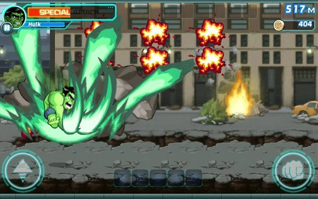 app marvel jump run smash screenshot 01