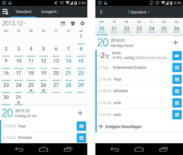 app zdcal kalender screenshot 04