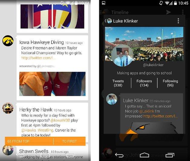 apps design talon twitter screenshot