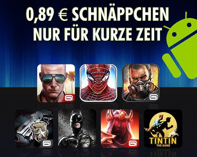 apps gameloft angebot teaser