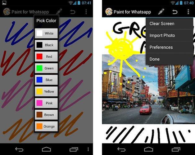 apps whatsapp paint for whatsapp