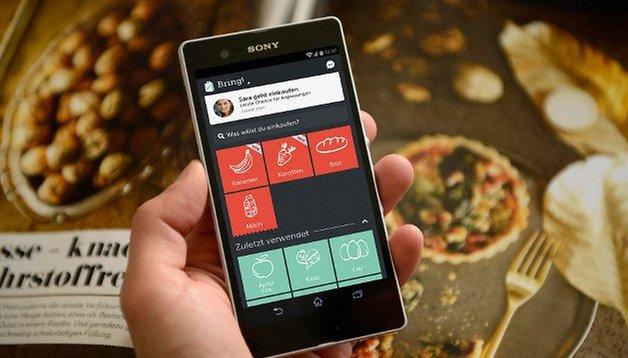 Bring!-App: Gemeinsam Einkaufen ohne Zettel [UPDATE]
