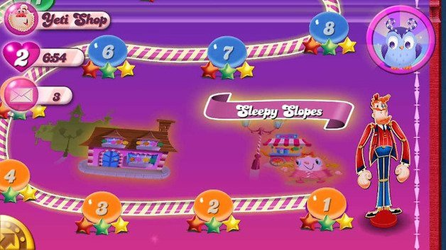 candy crush saga traumwelt screenshot 01