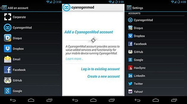 cyanogenmod 10 2 final account