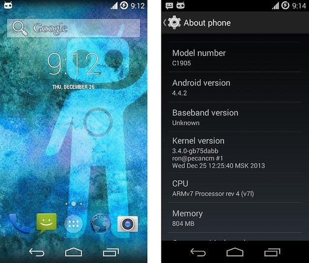 cyanogenmod 11 sony xperia m screenshot