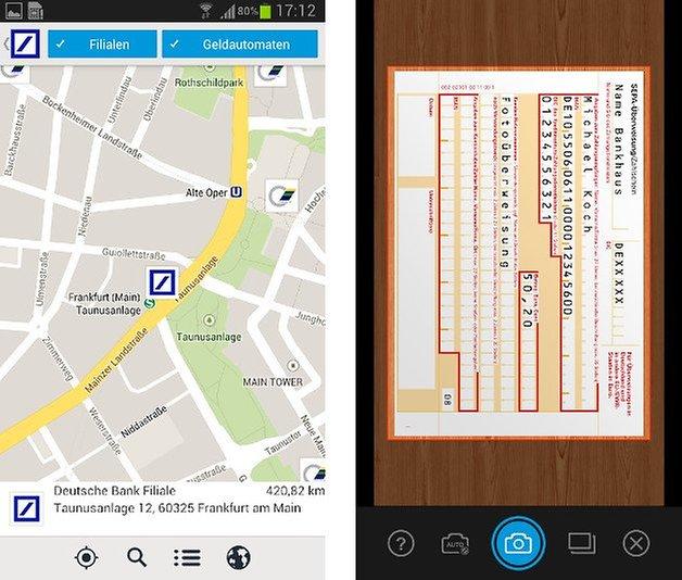 deutsche bank meine bank app screenshot