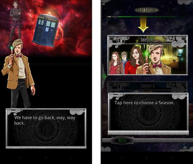 doctor who app screenshot 03
