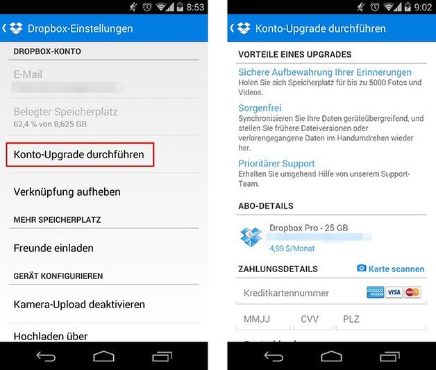 dropbox app update freigeben screenshot 02