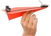 Gadget de la semaine : PowerUp3, l'avion en papier téléguidé