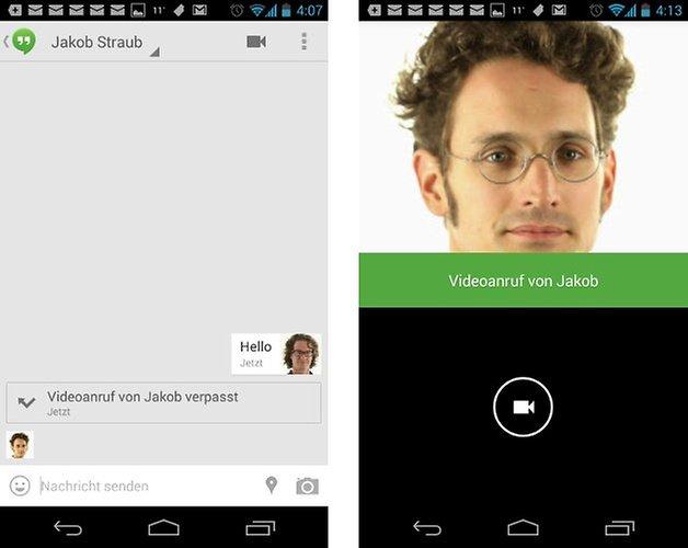 google hangouts screenshot 01
